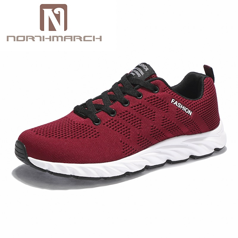 NORTHMARCH Men Shoes Breathable Lace Up Shoes Male Outdoor 2018 Light Trainers Mens Casual Sneakers Men Summer Zapatillas Hombre sale trainers men low top casual shoes lace up summer breathable walking shoes male gymwear shoes zapatillas deportivas xk040105