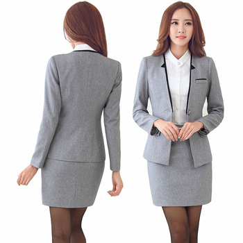 Women Business Suits 2019 Fashion Women's Pants Suit Slim Suit Jackets with Pants Office Ladies Formal OL Pants Work Wear Sets 1