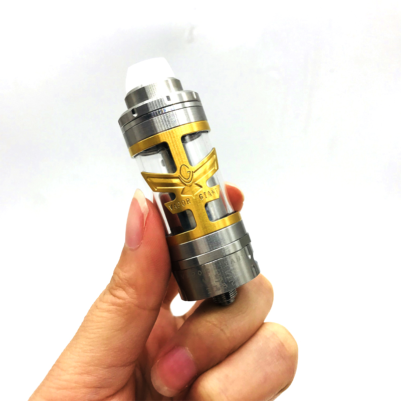 CYAN Vapor Giant V5S RTA Atomizer 23mm Diameter Vaporizer Rebuildable Tank Atomizer Fit 510 Thread Mod Electronic Cigarette Vape atomizer for reload rta e cigarette 24mm rebuildable tank vaporizer 510 thread