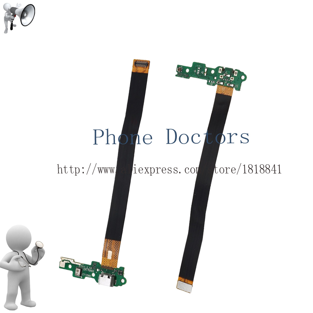 For Huawei Honor 6C DIG-L01 / Nova Smart DIG-L21HN USB Charger Charging Port Dock Connector Flex Cable Module Board Microphone