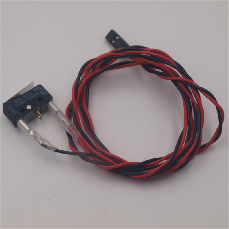 Funssor SS-5GL 5A 125VAC 0.49N endstop switch limited swtich 1meter cable for Reprap Prusa Kossel 3D printer spare parts