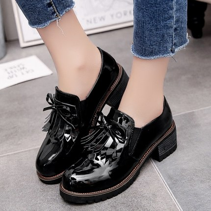 lady spring Leather Oxford Shoes retroWomen Pointed Toe Casual Shoes fashion  Autumn Leather Women Loafers Shoes party 2017 odetina fashion women pointed toe rivets loafers 2017 spring