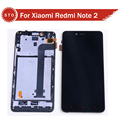 LCD For Xiaomi Redmi note 2 LCD Display+Touch Screen Digitizer Assembly with frame free shipping