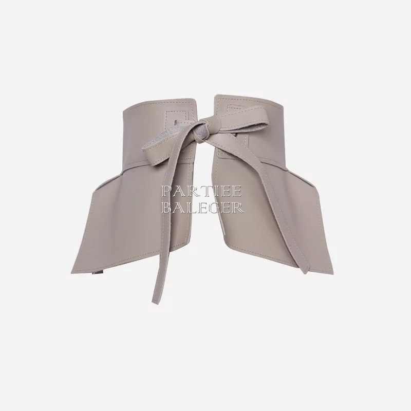 2019 Новое поступление модный корсет из искусственной кожи с бантом дизайн многоцветная женская одежда Клубные вечерние корсет из натуральной кожи двухсторонняя одежда