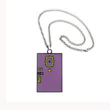 Fashion TV Show Friends Monica's door Necklace enamel charms keyring Pendant Central Perk Coffee Time Christmas gift jewelry