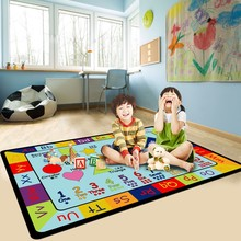 Cartoon puzzle carpet Children