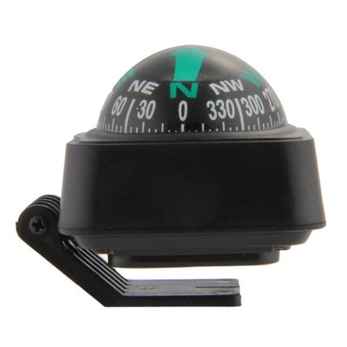 Compass Dashboard Dash Mount Navigation Car Boat Truck Black