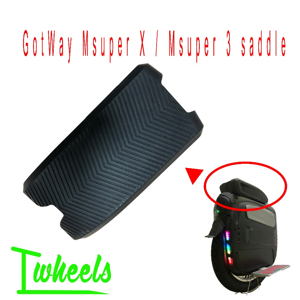 Original GotWay Msuper X Saddle Msuper V3 V3S+ Saddle 18 Inch Wheel Electric Unicycle Seat Cushion Spare Accessories