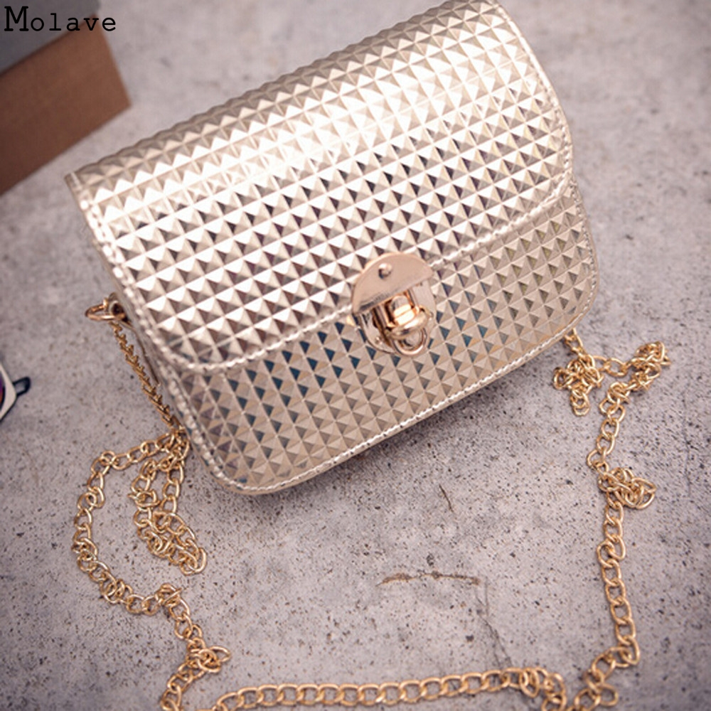 Women Shoulder Bags For Female Fashion PU Leather Handbags Chain Solid Shoulder Bag Mini Bags Woman Messenger Bag Purses D38M12 new 2016 fashion women handbag pu leather shoulder bags woman fashion trends metal logo messenger shoulder bag ft56