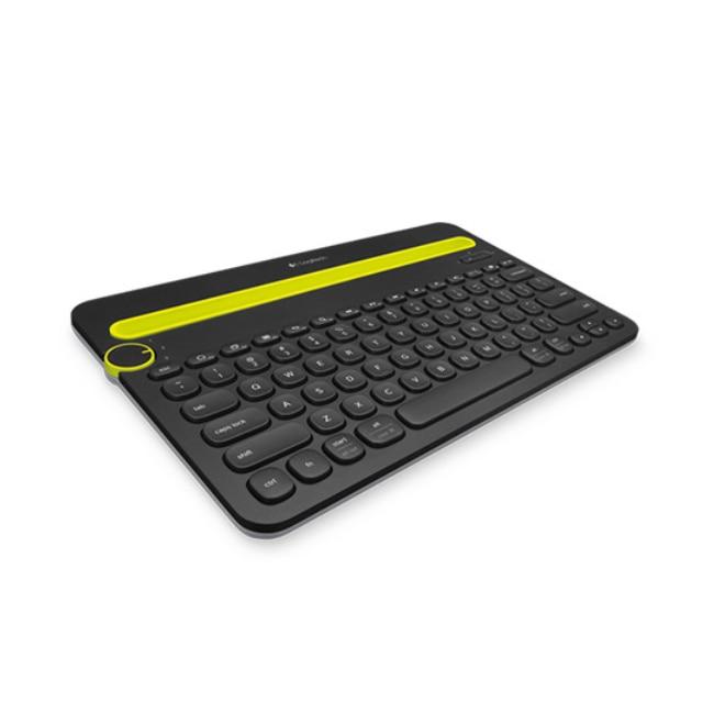 Logitech Mini clavier sans fil Bluetooth pour Android 3.2/4.0/4.1/4.2/4.3 tablette PC téléphone bureau espagnol pour iOS 5 pour Mac OS X