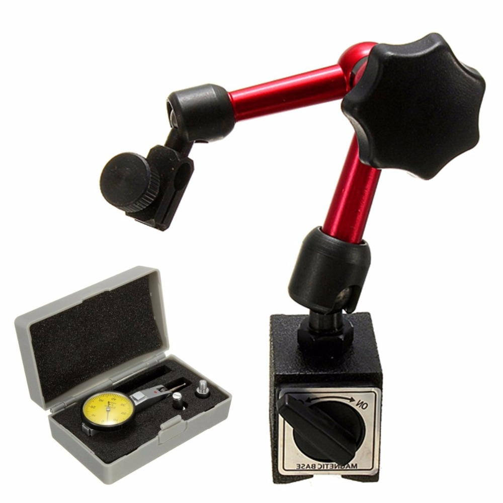 Mini Magnetic Base Holder Stand Magnetic Correction Gauge Stand Indicator Tool