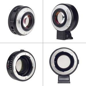 Image 5 - Viltrox NF E Handleiding Focus F Mount Lens Adapter Telecompressor Focal Reducer Speed Booster Voor Nikon F Sony Nex e Mount Camera