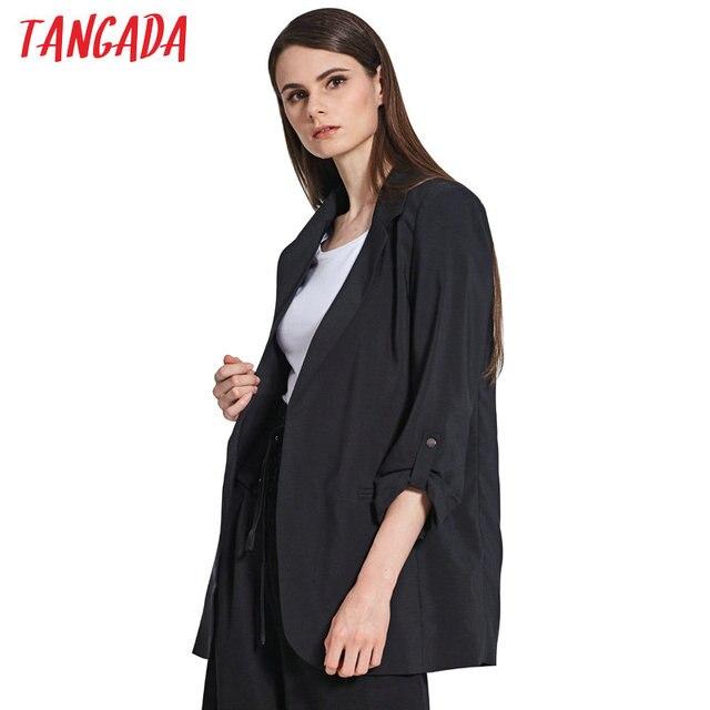b51a160f7439 Tangada-Donne-Blazer-Nero -Giacca-Collare-Dentellato-Tasche-Tre-Quarti-di-Manica-Del-Cappotto-Del-Rivestimento.jpg 640x640.jpg