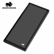 Business Men's Thin Genuine Leather Wallet Handy Slim