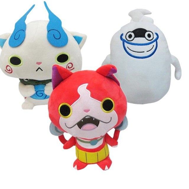 anime montre yokai watch peluche plush toys yo kai watch dolls baby