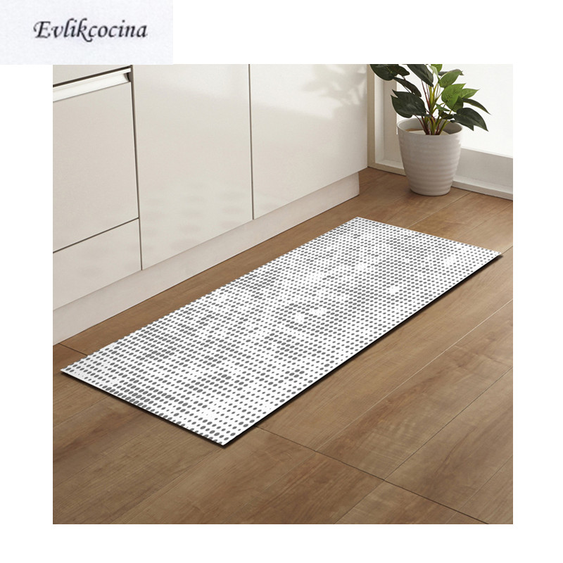 Free Shipping Gray Dots Tapis Salon Absorbent Bath Mat Area Rug