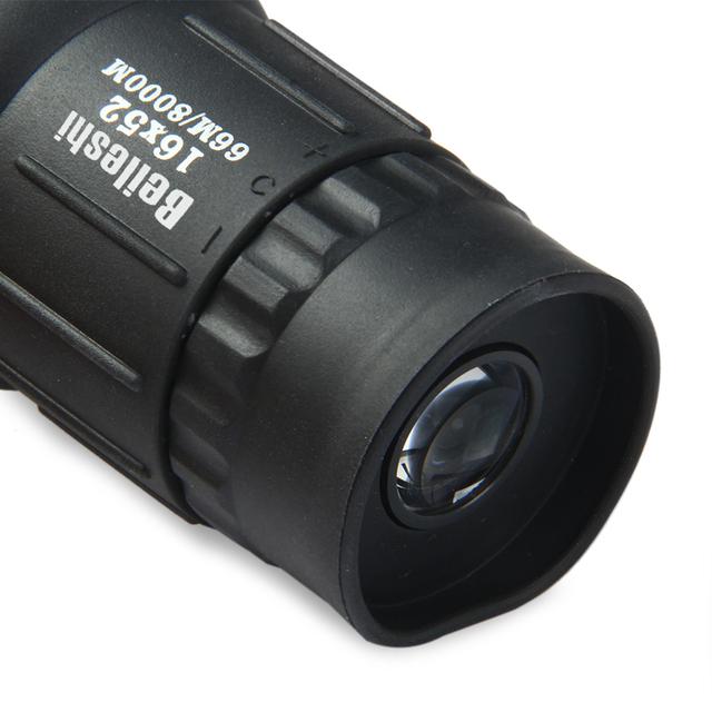 16 x 52 Dual Focus Monocular Spotting Telescope Zoom Optic Lens Binoculars Coating Lenses Hunting Optic Scope
