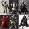 Star Wars Action Figures Stormtrooper Darth Vader Boba Fett Sic Samurai Taisho 17cm Realization Anime Star