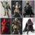 Rogue Uno Figuras de Acción de Star Wars Boba Fett Darth Vader Sic Samurai Taisho 17 cm Anime Star Wars Figuras Juguetes Para Niños de Regalos