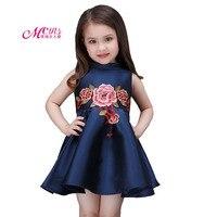 Ragazze di estate Ricamato Principessa Abiti Per Bambini Abbigliamento Casual Partito Delle Ragazze di Usura Dei Capretti del Vestito Vestiti Vestido 4 6 8 10 anni