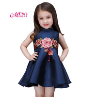 Summer Girls Embroidered Princess Dresses Children S Clothing Casual Girls Party Wear Dress Kids Clothes Vestido