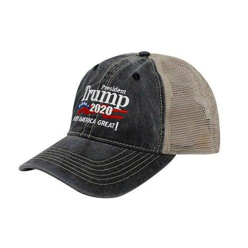 Baseball-Caps Motor Mesh Racing-Hats Trump Trucker Vintage Keep-America Unisex Summer