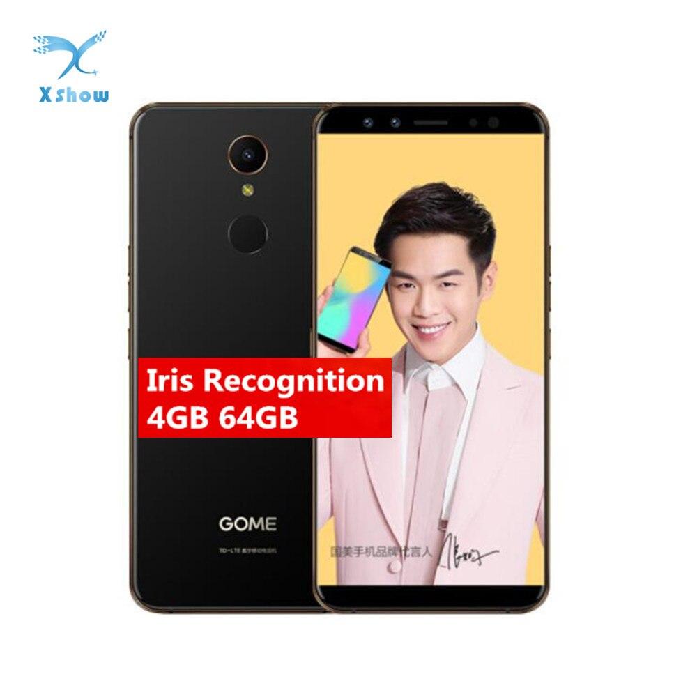 Gome U7 Mini Smartphone Iris Recognition 5 47 4GB RAM 64GB ROM MT6797 X20 Deca Core