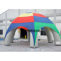 inflatable spider tent,event station gathering dome marquee inflatable roof top tent with 6 legs Party canopy tents