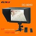 Viltrox dc-90 hd 8.9 ''super lcd tela grande exibição do monitor hdmi av câmera de vídeo + bateria + carregador para canon nikon dslr bmpcc