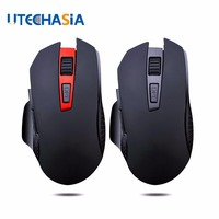 Q11 Wireless Gaming Mouse Mute Button Silent Click 2400DPI Optical Mini Noiseless Mice For Tablet Laptop