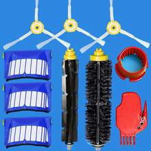 10 Pcs Replacement Vacuum Part Brush Filter Kit for iRobot Roomba Cleaner