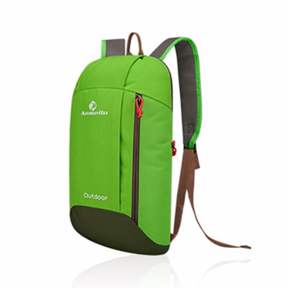 Mochila de nailon para acampar mochila de viaje para deportes al aire libre senderismo montañismo mochila táctica de viaje 10L bolsa para caminar en la ciudad