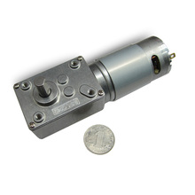 цена на 555 miniature DC geared motor, 12V 24V low speed high torque turbo vortex motor, self-locking motor, CW/CCW