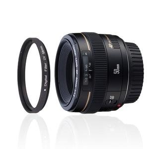 Image 5 - 37 40.5 43 46 49 52 55 58 62 67 72 77 82mm lens UV dijital filtre lens koruyucu canon nikon DSLR SLR kamera örnek paketi