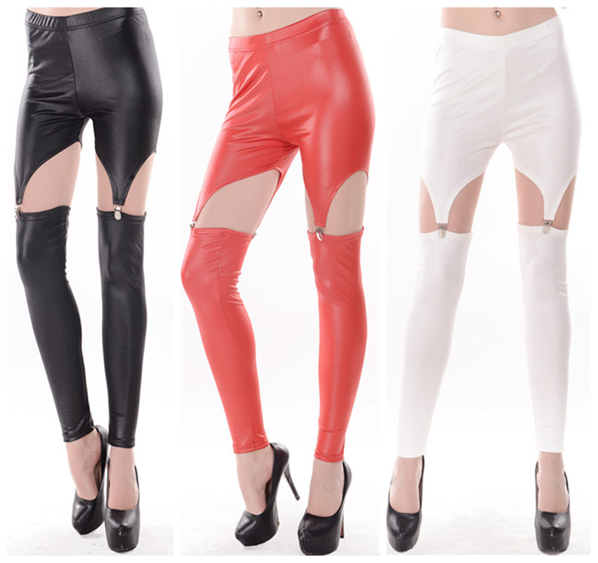 Fashion New Brand Sexy Leggings For Women Hollow O...