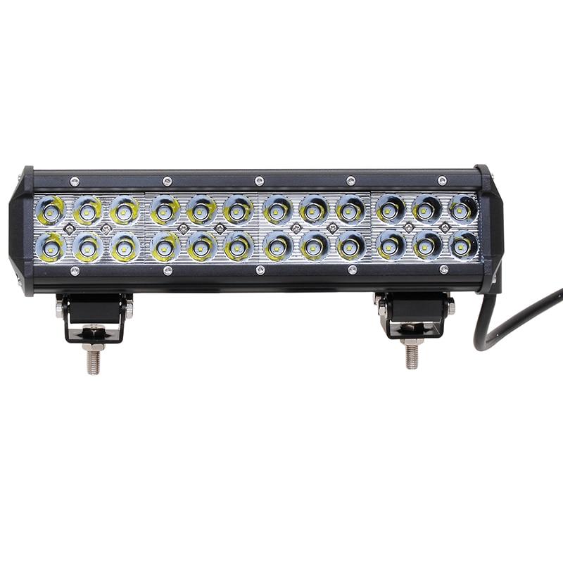 ФОТО 5040LM 13 Inch 72W 6 x 3W Car LED Light Bar Work light Flood Light Spot Light for Boating Hunting Fishing
