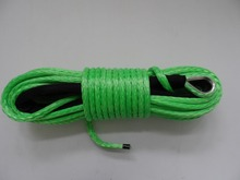 12mm*100ft 12 plait atv utv winch rope 12mm,amsteel rope for offroad parts,winch cable