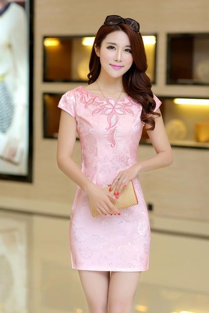 fc55ef6112d7d n chinese classic dress jacquard material beautiful body shape free  shipping m