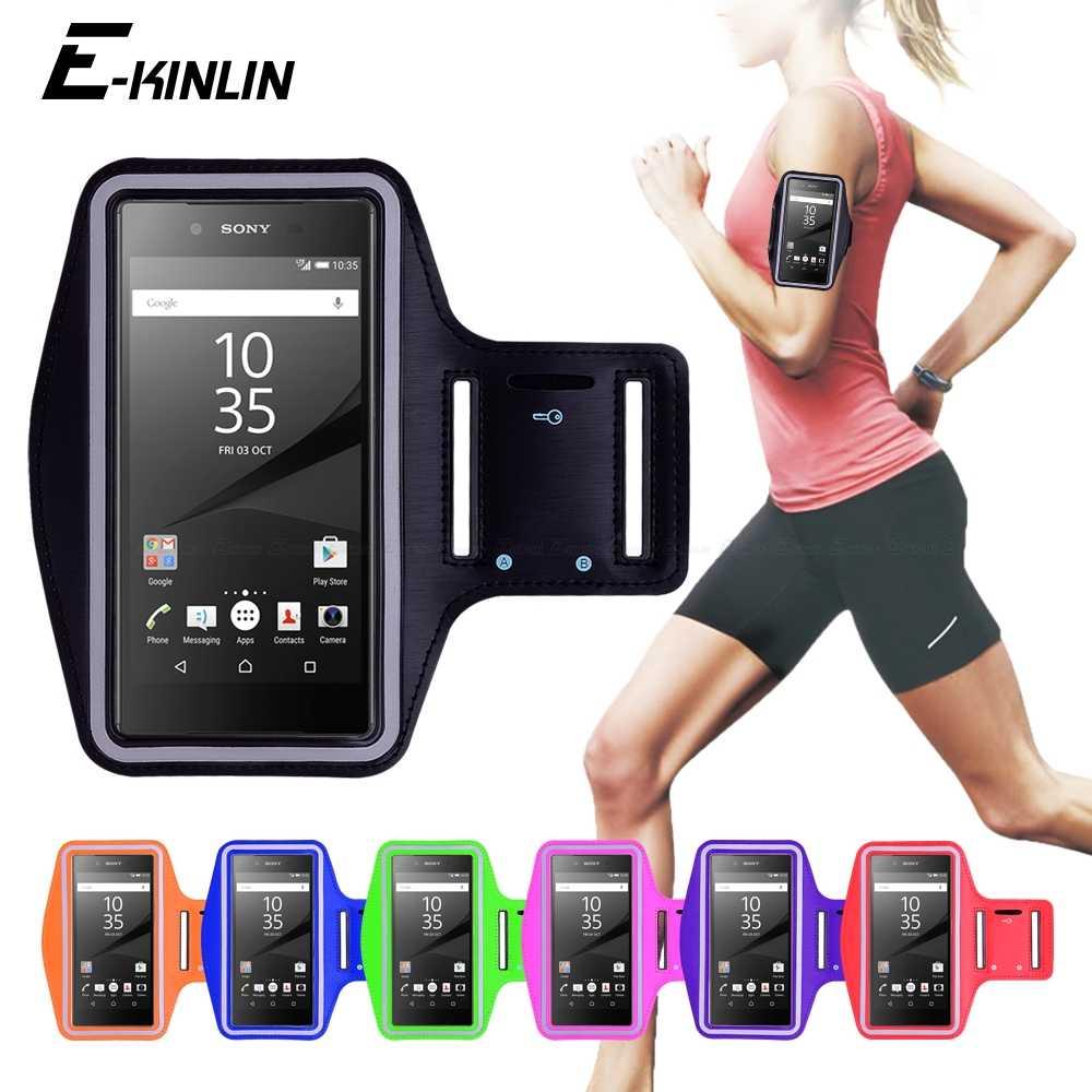 Спортивная сумка для бега и бега, чехол на руку, чехол для телефона sony Xperia L1 L2 L3 M4 M5 R1 Plus Z Z1 Z2 Z3 Z4 Z5 Compact
