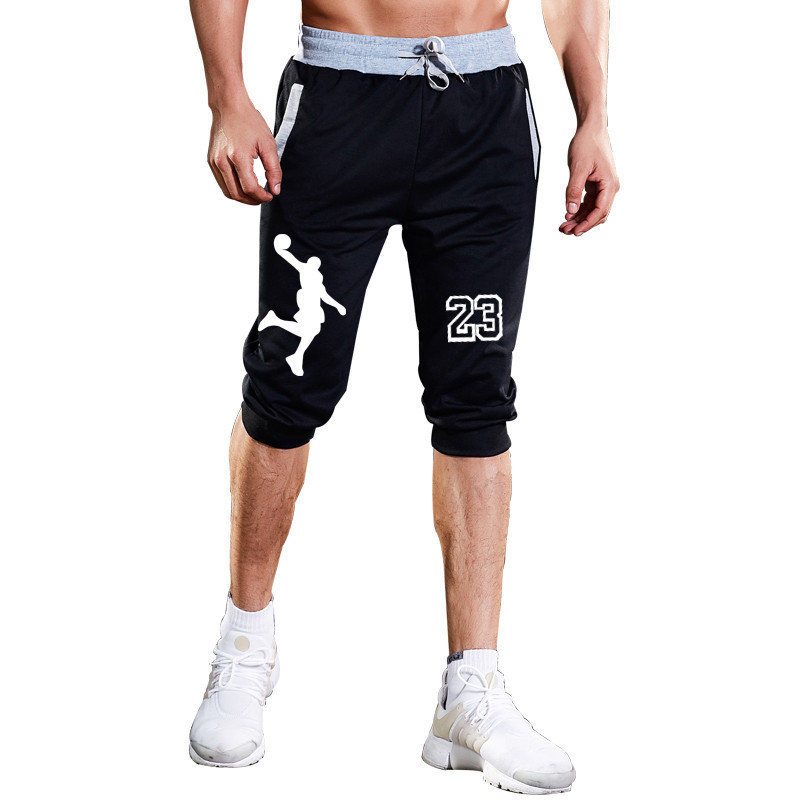 Zuversichtlich 2019 Neue Mode Sommer Freizeit Männer Knielangen Shorts Farbe Patchwork Jogger Kurzen Jogginghose Mann Fitness Kordelzug Shorts