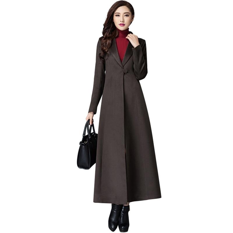 Long Black Wool Coats | Fashion Women's Coat 2017
