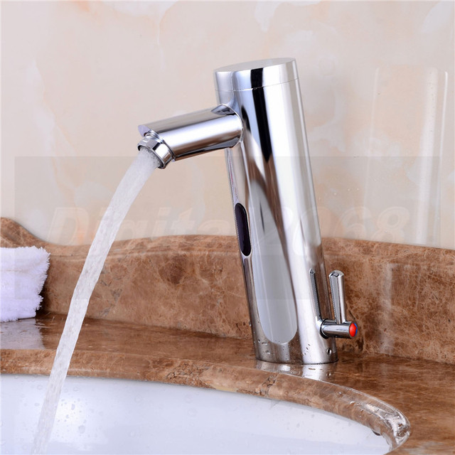 motion sensor faucet. Free Shipping Motion Sensor Faucet Automatic Hand Touchless Tap Hot Cold Mixer Bathroom Sink Infrared M