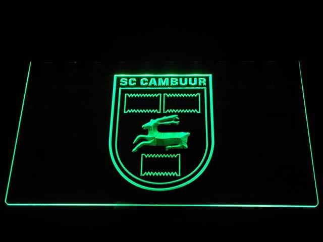 B1016 SC Cambuur Leeuwarden Eredivisie Voetbal LED Neon Sign in ...