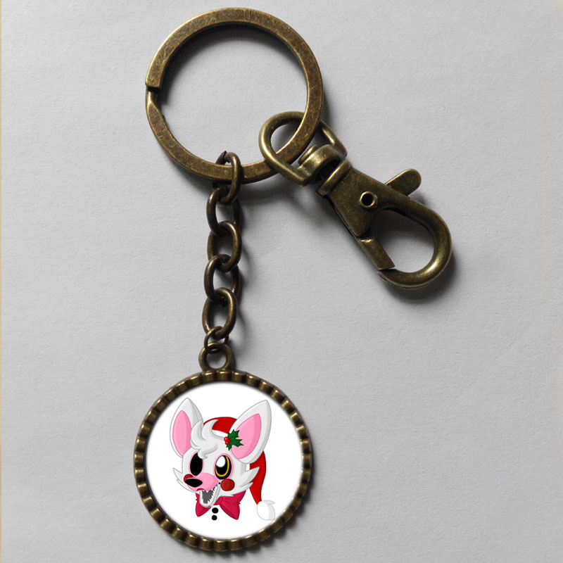 five nights at freddy s key chain mangle fnaf scrabble tile antique keyring cute keychain antique ring gfit lot cute distributor