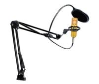 BM800 Studio Micro Karaoke Microphone 3.5mm Professional Mikrofon Condenser Sound Recording Microphone For computer