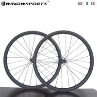 Супер легкий T800 29er/27.5er MTB XC 30 мм бескамерные горный велосипед 15*100 12*142 24 H 28 H 650B углерода колеса