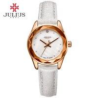 Julius reloj de las mujeres de moda de cuero whatch 5 colores al por mayor de china relojes últimas relojes de pulsera para niñas marca diamond ja-723
