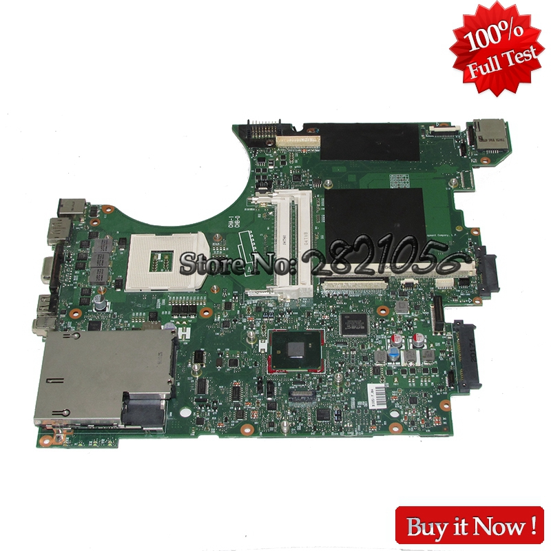 Nokotion Mainboard 595700-001 For HP 8740W laptop motherboard QM57 With graphics slot Fully Tested nokotion 646176 001 laptop motherboard for hp cq43 intel hm55 ati hd 6370 ddr3 mainboard full tested