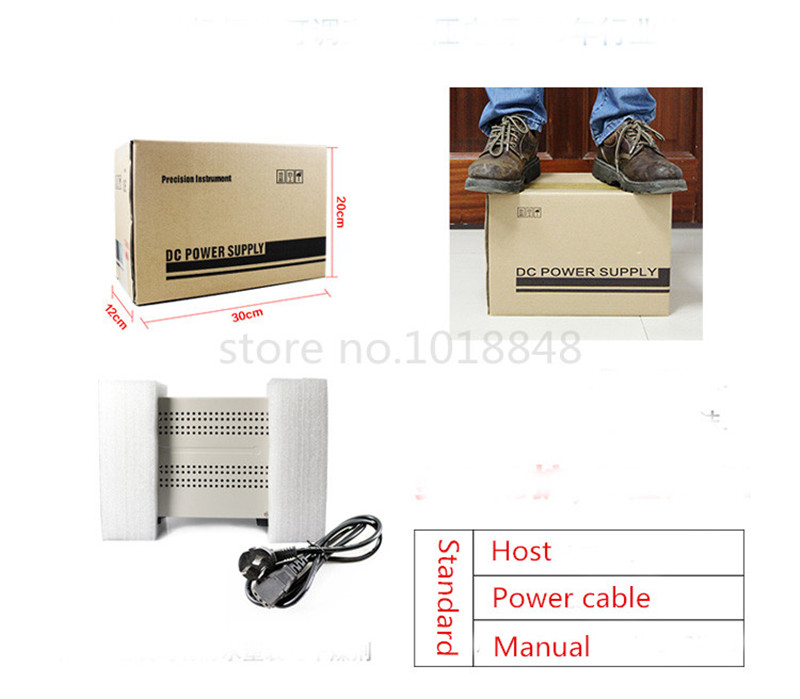 ФОТО 8pcs/Lot 110v MCH-K305D Mini Switching Regulated Adjustable DC Power Supply SMPS Single Channel 30V 5A Variable MCH K305D