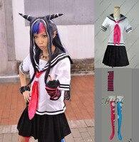 Super Danganronpa 2 Danganronpa Ibuki Mioda Suit Skirt Anime Halloween Cosplay Costumes For Women Custom Made